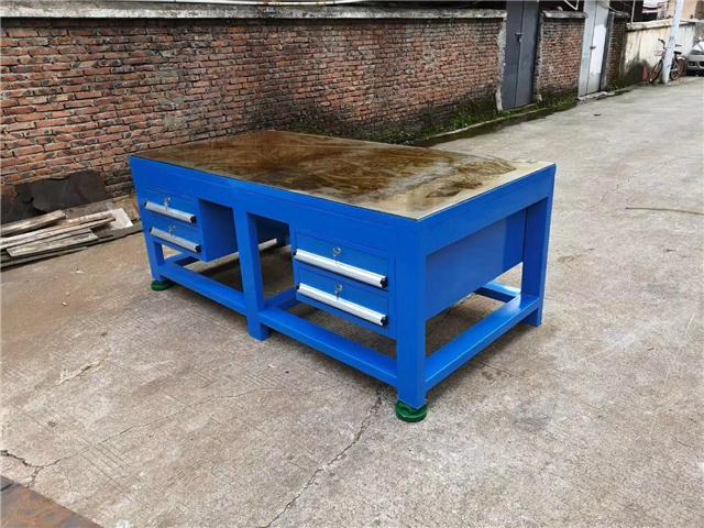A3钢板钳工桌