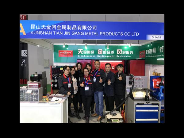 2019上海法兰克福展,工具柜厂家天现场精彩亮点【天金冈】