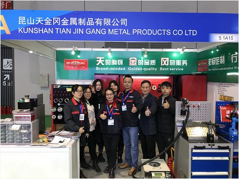 天金岡攜拳頭產品重磅亮相2019上海法蘭克福汽配展