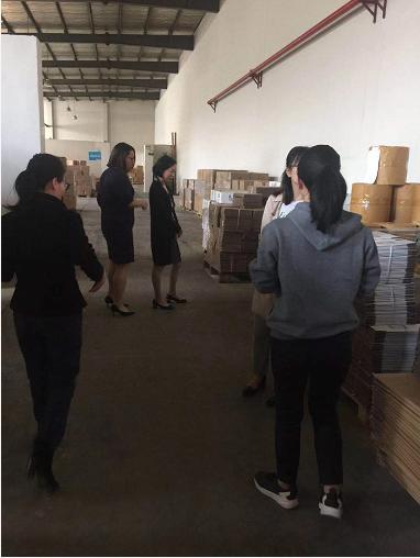 工具柜厂家天金冈走进上海悦家工厂