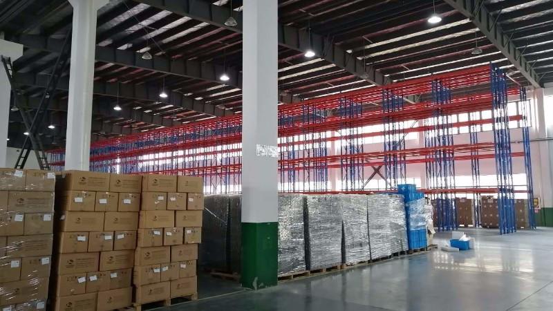 上海摩腾备件库货架项目