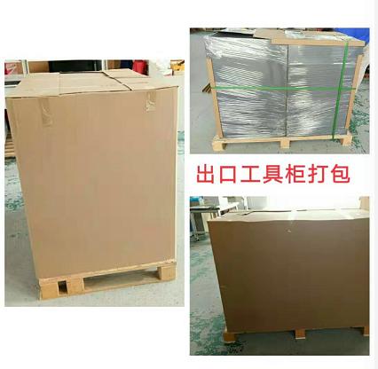 上海工具柜制造出口企业-天金冈出口工具柜打包