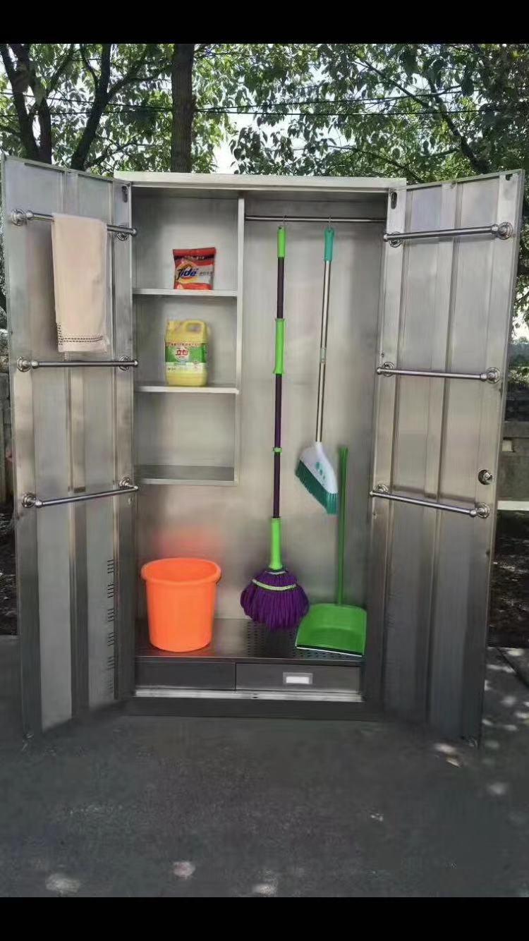 天金冈工具柜生产厂家--不锈钢清洁柜客户场景