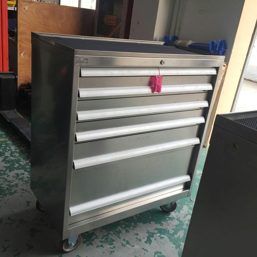 不锈钢移动工具柜