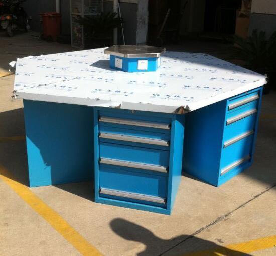 六角工作桌安装方法