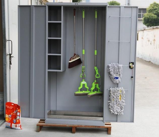不锈钢清洁工具柜