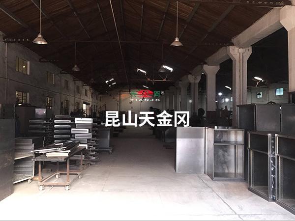 工具柜厂家天金冈黑件组装区