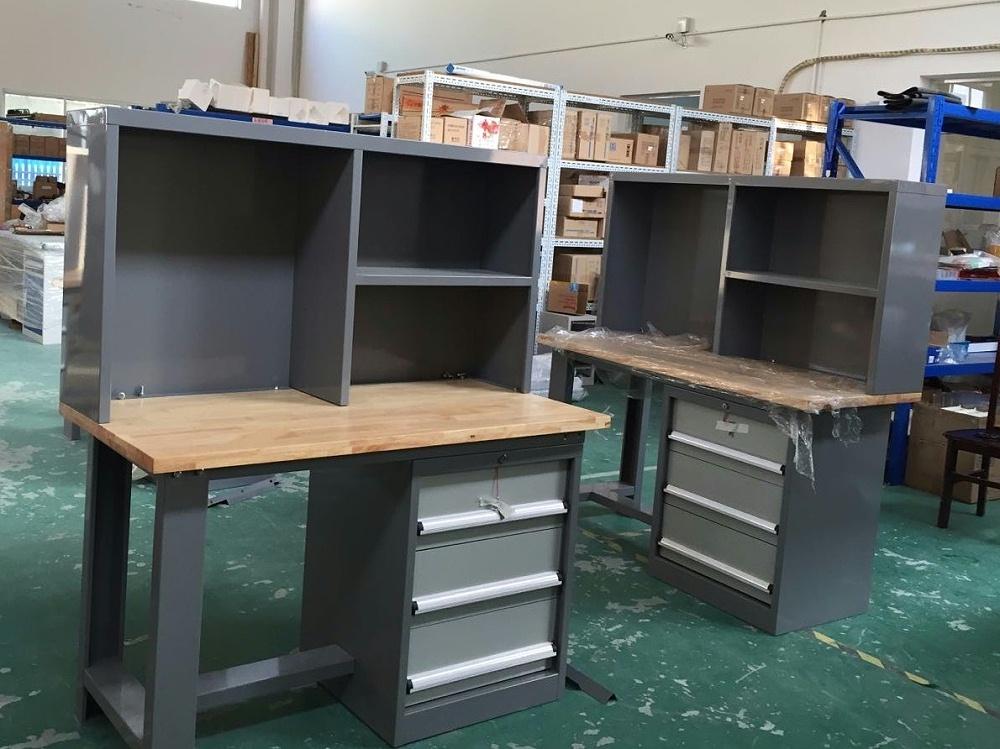 实木钳工桌
