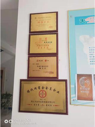 工具柜廠家天金岡獲昆山跨境電子商務協會理事單位