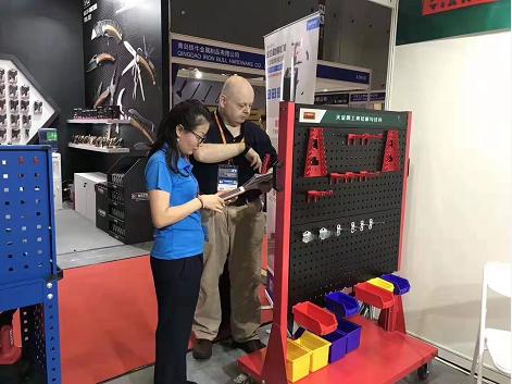 获8项CE认证的工具柜厂家天金冈出口东南亚等32个国家