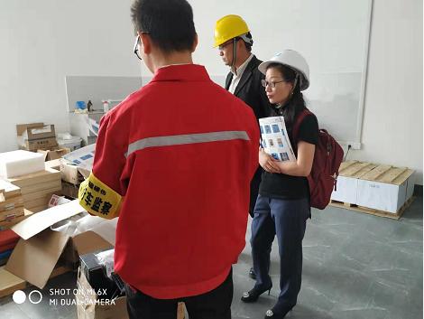 工具柜厂家天金冈技术经理周艳玲女士为某知名风电企业提供车间规划方案